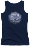 Juniors Tank Top: Superman - Freedom Of Flight Womens Tank Tops
