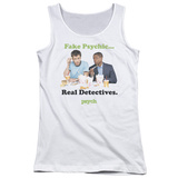 Juniors Tank Top: Psych - Take Out Womens Tank Tops