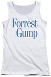Juniors Tank Top: Forrest Gump - Logo Tank Top