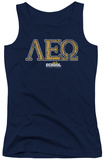 Juniors Tank Top: Old School - Leo Tank Top