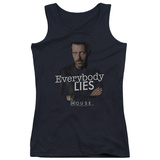 Juniors Tank Top: House - Everybody Lies Tank Top