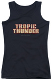 Juniors Tank Top: Tropic Thunder - Title Tank Top