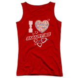 Juniors Tank Top: Smarties - I Heart Smarties Tank Top