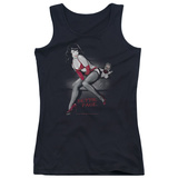 Juniors Tank Top: Bettie Page - Monkey Business Tank Top
