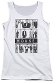 Juniors Tank Top: House - Film Womens Tank Tops