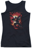 Juniors Tank Top: Man Of Steel - Out Of The Sun Tank Top