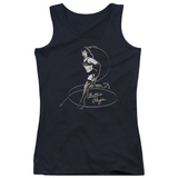 Juniors Tank Top: Bettie Page - Whip It! Tank Top