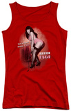 Juniors Tank Top: Bettie Page - Let's Have Some Fun Tank Top