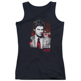 Juniors Tank Top: Dexter - Boy Next Door Womens Tank Tops