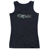 Juniors Tank Top: Grimm - Bloody Logo Tank Top