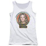 Juniors Tank Top: Bionic Woman - Under My Skin Tank Top