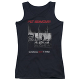 Juniors Tank Top: Pet Semetary - Cat Poster Tank Top