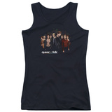 Juniors Tank Top: Queer As Folk - Title Tank Top