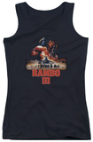 Juniors Tank Top: Rambo III - French Poster Tank Top