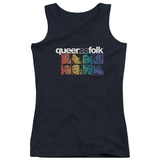 Juniors Tank Top: Queer As Folk - Cast Tank Top