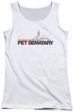 Juniors Tank Top: Pet Sematary - Logo Tank Top