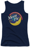 Juniors Tank Top: Moon Pie - Current Logo Tank Top