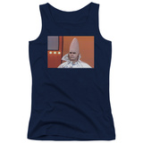 Juniors Tank Top: Saturday Night Live - The Conehead Tank Top