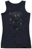 Juniors Tank Top: Man Of Steel - Kneel Tank Top