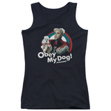 Juniors Tank Top: Zoolander - Obey My Dog Tank Top