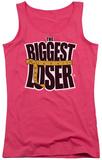 Juniors Tank Top: Biggest Loser - Logo Tank Top