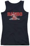 Juniors Tank Top: Rambo III - John Rambo Womens Tank Tops