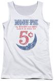 Juniors Tank Top: Moon Pie - - Lunch Munch Tank Top