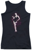Juniors Tank Top: Bettie Page - Lacy Tank Top