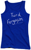 Juniors Tank Top: Saturday Night Live - Turd Ferguson Tank Top