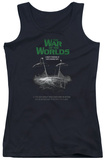 Juniors Tank Top: War Of The Worlds - Attack Poster Tank Top