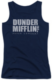 Juniors Tank Top: The Office - Dunder Mifflin Distressed Tank Top