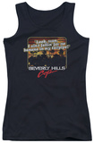 Juniors Tank Top: Beverly Hills Cop - Banana In My Tailpipe Tank Top
