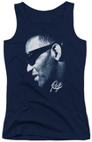 Juniors Tank Top: Ray Charles - Blue Ray Tank Top