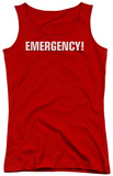 Juniors Tank Top: Emergency - Logo Tank Top