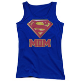 Juniors Tank Top: Superman - Super Mom Tank Top