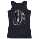 Juniors Tank Top: House - Crew Tank Top