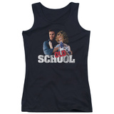 Juniors Tank Top: Old School - Frank And Friend Tank Top