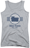 Juniors Tank Top: White Castle - Emblem Tank Top