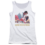 Juniors Tank Top: Gone With the Wind - On Fire Tank Top