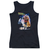 Juniors Tank Top: Back To The Future II - Poster Womens Tank Tops