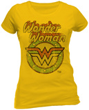 Juniors: Wonder Woman - Circle Logo T-Shirt