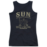 Juniors Tank Top: Sun Records - Rockabilly Bird Tank Top