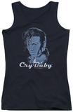 Juniors Tank Top: Cry Baby - King Cry Baby Tank Top