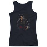 Juniors Tank Top: Vampire Diaries - Damon Tank Top