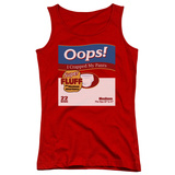 Juniors Tank Top: Saturday Night Live - Oops Tank Top