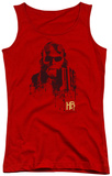 Juniors Tank Top: Hellboy II - Splatter Gun Tank Top