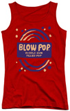 Juniors Tank Top: Tootsie Roll - Blow Pop Rough Tank Top