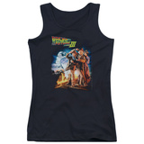 Juniors Tank Top: Back To The Future III - Poster Womens Tank Tops