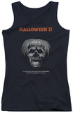 Juniors Tank Top: Halloween II - Pumpkin Poster Tank Top
