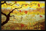 Apple Tree with Red Fruit, c.1902 Print by Paul Ranson